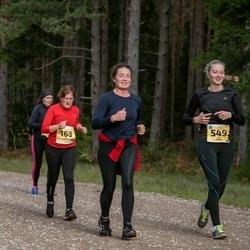 45. Saaremaa kolme päeva jooks - Eve Skoglund (168), Riin Praks (549)