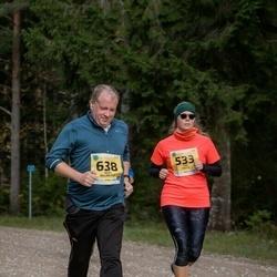 45. Saaremaa kolme päeva jooks - Siiri Paiste (533), Andy Billington (638)
