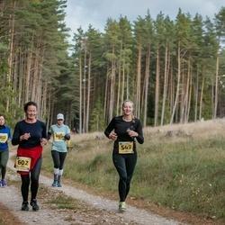 45. Saaremaa kolme päeva jooks - Riin Praks (549), Sirje Praks (602)
