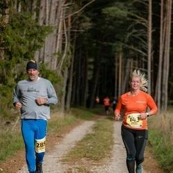 45. Saaremaa kolme päeva jooks - Moonika Merivälja (143), Marts Kalnins (289)