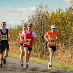 45. Saaremaa kolme päeva jooks - Margus Pirksaar (218), Kalev Õisnurm (645), Janar Mai (670)