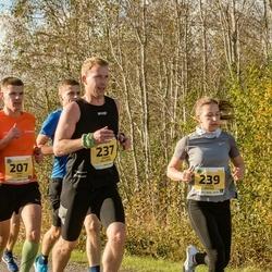 45. Saaremaa kolme päeva jooks - Mart Kivi (207), Andres Hellerma (237), Laura Maasik (239)