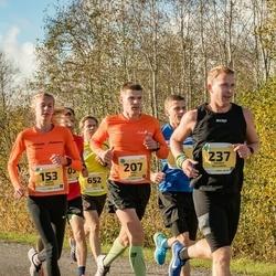45. Saaremaa kolme päeva jooks - Minna Kuslap (153), Mart Kivi (207), Andres Hellerma (237)