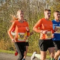 45. Saaremaa kolme päeva jooks - Minna Kuslap (153), Juhan Änilane (201)