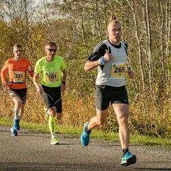 45. Saaremaa kolme päeva jooks - Alar Kaar (269), Janar Säkk (321), Anastasiia Zakharova (362), Urmas Põldre (381)