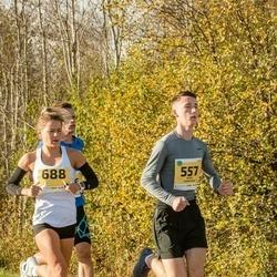 45. Saaremaa kolme päeva jooks - Denis Barausov (557), Daana Suun (688)