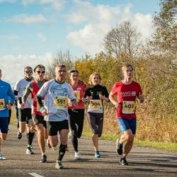 45. Saaremaa kolme päeva jooks - Kadiliis Kuiv (304), Rimo Timm (403), Aleksei Belousov (591), Kevin Ervald (644)