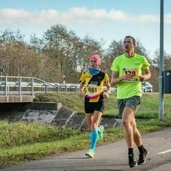 45. Saaremaa kolme päeva jooks - Paul Kolk (128), Mirjam Vint (661)