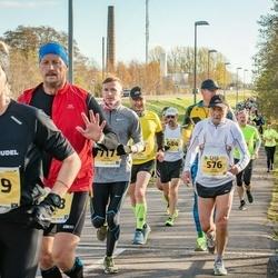 45. Saaremaa kolme päeva jooks - Ants Kuusik (576), Kadri Veske (669)