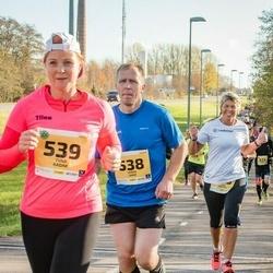 45. Saaremaa kolme päeva jooks - Janek Saar (538), Tiina Kadak (539)