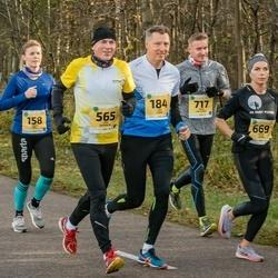 45. Saaremaa kolme päeva jooks - Kristi Kõll (158), Jüri Linde (184), Erik Keerberg (565), Kadri Veske (669), Rene Hallemaa (717)