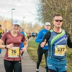 45. Saaremaa kolme päeva jooks - Kätlin Kallakas (76), Hanno Kindel (537)