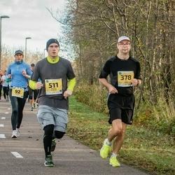 45. Saaremaa kolme päeva jooks - Ivo Tamm (378), Niklass Kalnins (511)