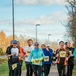 45. Saaremaa kolme päeva jooks - Annika Veimer (157), Veiko Tormet (439)