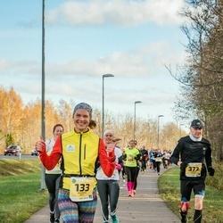 45. Saaremaa kolme päeva jooks - Moonika Kitt (133), Andrus Kivari (373)