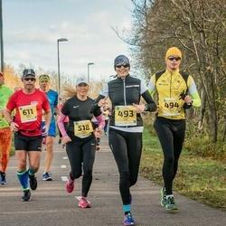45. Saaremaa kolme päeva jooks - Laura Huik (493), Martti Salm (494), Gerly Vahe (518), Robert Mälk (611)