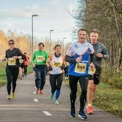 45. Saaremaa kolme päeva jooks - Made Vares (307), Kadri Possul (335), Gert Kello (502), Renee Tuul (649)