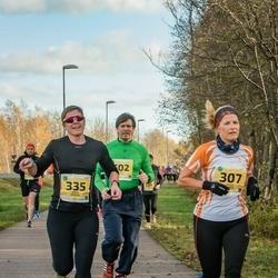 45. Saaremaa kolme päeva jooks - Made Vares (307), Kadri Possul (335), Gert Kello (502)