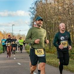 45. Saaremaa kolme päeva jooks - Paavo Rebane (515), Andres Veske (631)