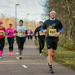 45. Saaremaa kolme päeva jooks - Ivi Juknaite (276), Eike Mällo (448), Silver Vürmer (663)