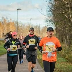 45. Saaremaa kolme päeva jooks - Erkki Naaris (179), Mihkel Meerits (509), Jaana Leidas-Meerits (510)