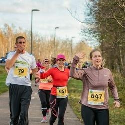 45. Saaremaa kolme päeva jooks - Kristin Arm (451), Liga Brence (647)