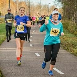 45. Saaremaa kolme päeva jooks - Annika Veisson (210), Carmen Kolomainen (422)
