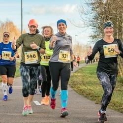 45. Saaremaa kolme päeva jooks - Maarika Reiles (54), Epp Välba (331), Tuuli Saarniit (546)