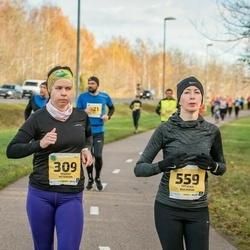 45. Saaremaa kolme päeva jooks - Marika Peterson (309), Tatjana Kulikova (559)
