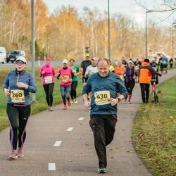 45. Saaremaa kolme päeva jooks - Kristi Saard (260), Andy Billington (638)