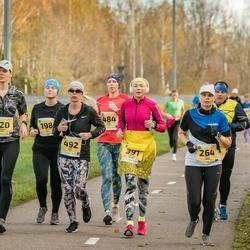 45. Saaremaa kolme päeva jooks - Diana Aus (198), Triin Kink (264), Eneken Jalast (391), Piret Palm (484), Liina Jutt (492), Moonika Org (520)