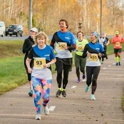 45. Saaremaa kolme päeva jooks - Imbi Joasaar (93), Nadežda Värk (455)