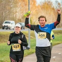 45. Saaremaa kolme päeva jooks - Mihkel Nõmmela (456), Piret Tuul (657)