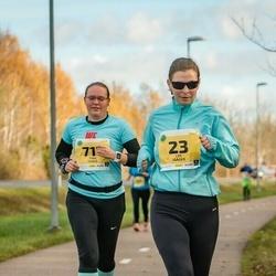 45. Saaremaa kolme päeva jooks - Liis Jääger (23), Tiina Teidla (711)