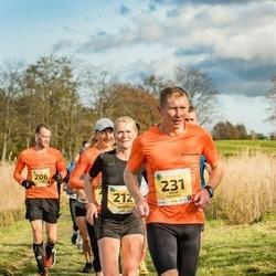 45. Saaremaa kolme päeva jooks - Kristel Vallaste (212), Janno Kaljuvee (231)