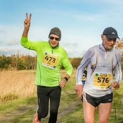 45. Saaremaa kolme päeva jooks - Mati Jams (473), Ants Kuusik (576)