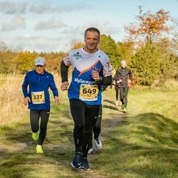 45. Saaremaa kolme päeva jooks - Kuido Rooba (337), Renee Tuul (649)