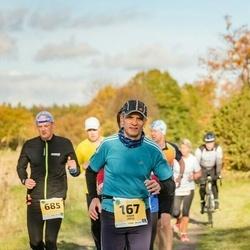 45. Saaremaa kolme päeva jooks - Einar Järve (167), Toomas Ellmann (685)