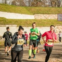 45. Saaremaa kolme päeva jooks - Elli Tänavots (634), Mari Kaljuste (642)