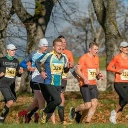 45. Saaremaa kolme päeva jooks - Janno Kaljuvee (231), Diana Kaljuvee (232), Märt Kesküla (326), Mart Salusaar (489)