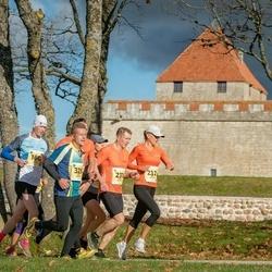45. Saaremaa kolme päeva jooks - Taivo Kitsing (160), Janno Kaljuvee (231), Diana Kaljuvee (232), Mart Salusaar (489)