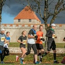 45. Saaremaa kolme päeva jooks - Taivo Kitsing (160), Kristel Vallaste (212), Tanel Tamm (312)