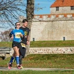 45. Saaremaa kolme päeva jooks - Liina Malva (516), Konstantin Selli (692)