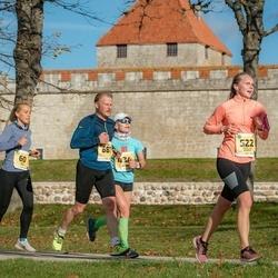 45. Saaremaa kolme päeva jooks - Eveliis Saar (60), Cathy-Liis Suurkivi (522), Marko Kaljuste (687)