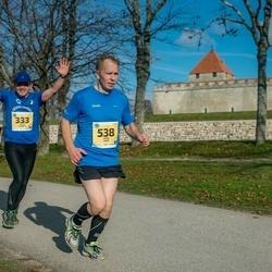 45. Saaremaa kolme päeva jooks - Valev Altmets (333), Janek Saar (538)