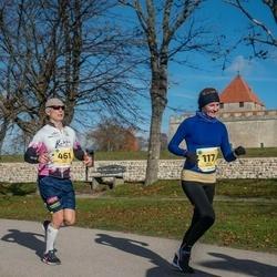 45. Saaremaa kolme päeva jooks - Külli Kaldma (117), Olari Paas (461)
