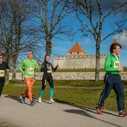 45. Saaremaa kolme päeva jooks - Annely Saar (215), Margus Pootsmaa (225), Kadri Possul (335), Gert Kello (502)
