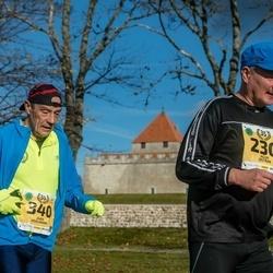 45. Saaremaa kolme päeva jooks - Agur Ostrak (230), Jaan Vehlmann (340)