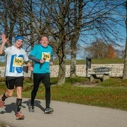 45. Saaremaa kolme päeva jooks - Sulev Oll (394), Erki Vellama (504)