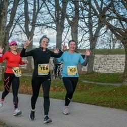 45. Saaremaa kolme päeva jooks - Evelin Kuris (163), Kristin Arm (451), Karin Paloots (706)